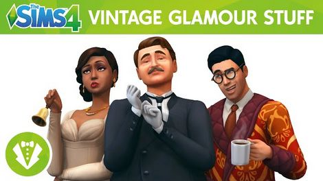 The Sims 4 Vintage Glamour Stuff Free Download PC Game