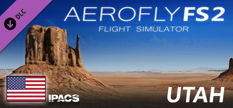 Aerofly FS 2 USA Utah Free Download PC Game