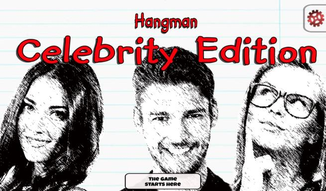 Hangman Celebrity Edition Free Download